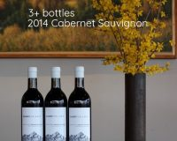 30% Off 3+ bottles of 2014 Cab @ Gilbert Cellars!