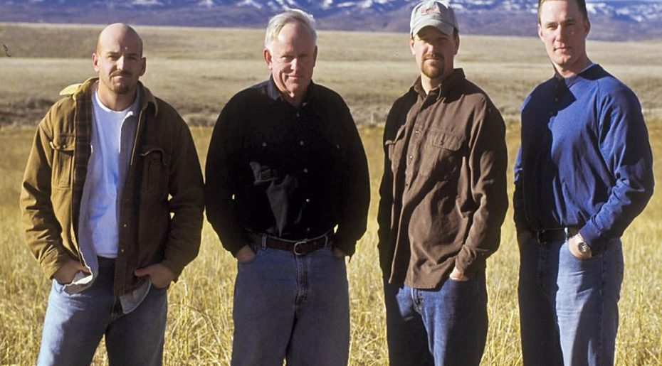 Mike Sauer, along with sons Daniel and Jonathan, and son-in-law Rick are all involved with the family farm.